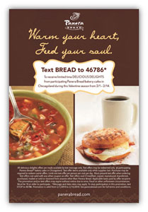 Panera call to action